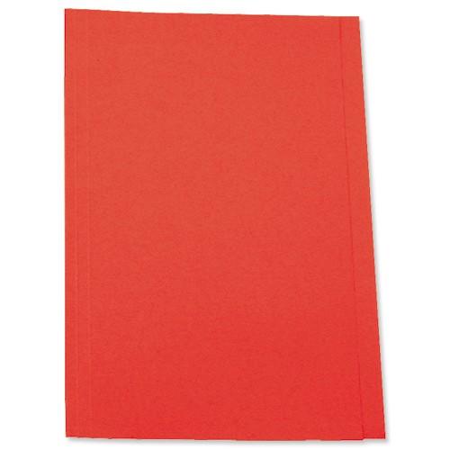 5 Star Square Cut Folder 250G A4 Red