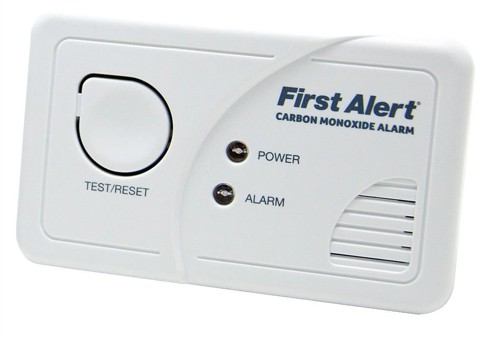 First Alert Carbon Monoxide Detector Alarm LED and Fittings 85dB Ref CO400UK