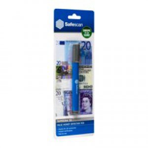 Safescan 30 Counterfeit Money Detector Pen Ref 111-0378 [Pack 10]