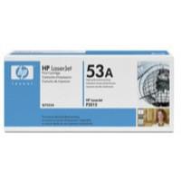 Hewlett Packard [HP] No. 53A Laser Toner Cartridge Page Life 3000pp Black Ref Q7553A
