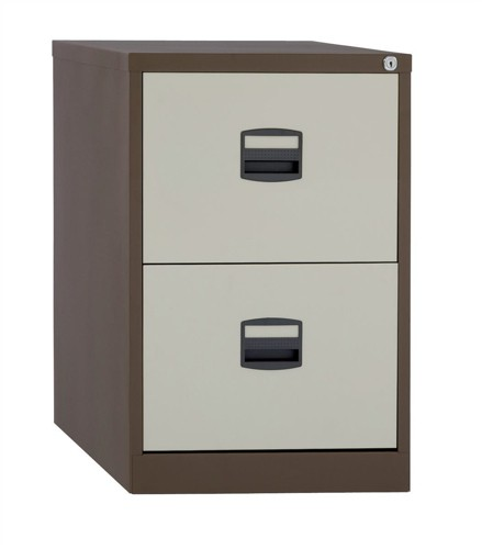 Trexus 2 Drawer Filing Cabinet Cof/Cream