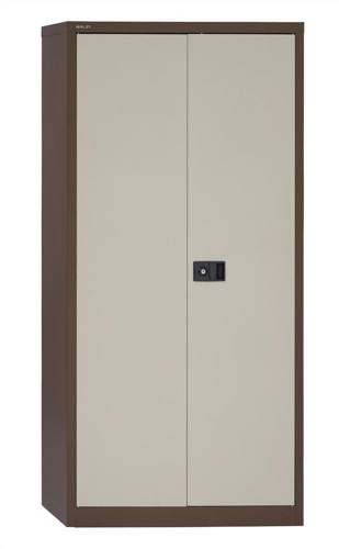Trexus Cupboard 72in Cof/Cream 2 Door