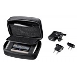 Hama Satellite Navigation Accessory Starter Kit with Travel Charger and Hard Case Ref 73150303