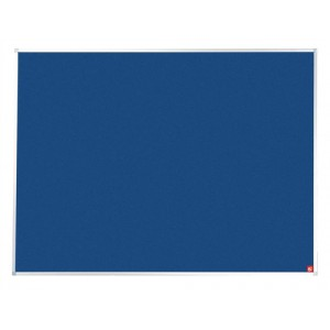 5 Star Noticeboard with Fixings and Aluminium Trim W1800xH1200mm Blue