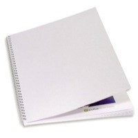 GBC Binding Covers Textured Linen Look 250gsm A4 White Ref CE050070 [Pack 100]
