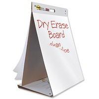 3M Post-it Table Top Easel Pad/Dry Erase Board 653-DE