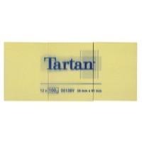 3M Tartan Repositionable Note 38x51mm TN3