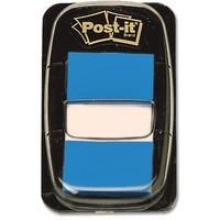 3M Post-it Index Tab 25mm Blue 680-2