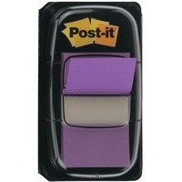 3M Post-it Index Tab 25mm Purple 680-8
