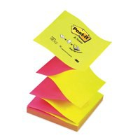 Image for 3M Post-it Z-Note 76x76mm Neon Pink and Yellow R330N