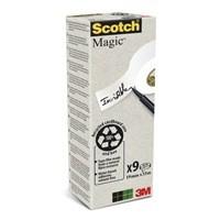 Scotch Magic Tape 19 x 33m (Pack of 9) 90019339