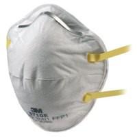3M Respirator P1 Unvalved Pack of 20 8710E GT500075178