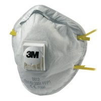 3M Respirator P1 Valved 8812 Pack of 10 GT500075194