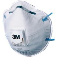 3M Respirator P2 Valved 8822 Pack of 10 GT500075202