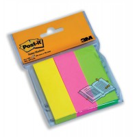 Image for 3M Post-it Page Markers 25x76mm Pack of 3x100 671/3