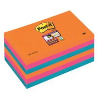 Post-it Super Sticky Note 76x76mm BoraBora P6.