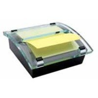 3M Post-it Z-Note Millennium Dispenser with R330 Pad Canary Yellow C2014