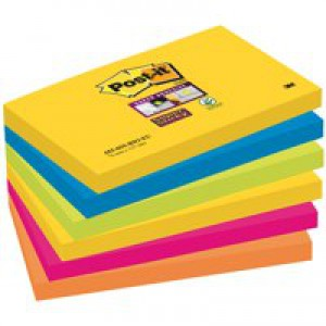 Post-it Marrakesh Colour Notes 76x76mm 655-6SS-RIO-EU Every 2pks ordered claim a ?5 Whittard Voucher
