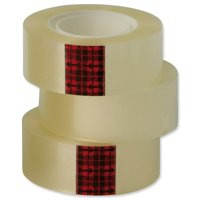 3M Scotch Easy Tear Clear Tape 24mm x33 Metres