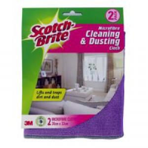 3M Scotchbrite Clean Dust Cloth Pack of 2 GN030122008
