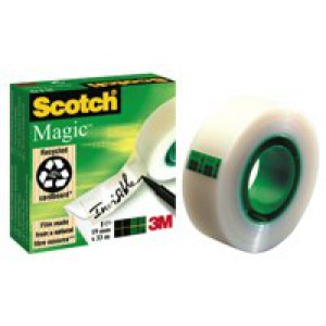 3M Scotch 810 Magic Tape 19mm x33 Metres 8101933