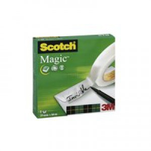 3M Scotch 810 Magic Tape 25mm x66 Metres 8102566