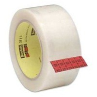 Scotch Packaging Tape Polypropylene 50mm x 66m Clear Pk 6 C5066SF6