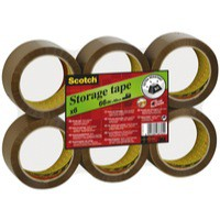 3M Scotch Store Tape Extra Resistant Low Noise 48mm x66 Metres Buff SE4866F6