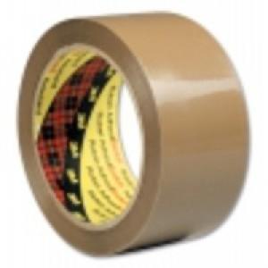 Scotch Packaging Tape PVC 50mm x 66m Buff PVC5066F6 B