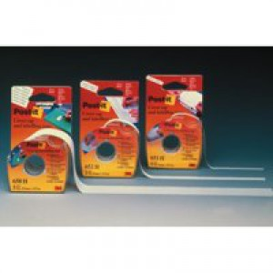 Post-it Labelling and Cover-up Tape Repositionable for 6 Lines W25mm Ref 658H [Pack 12]