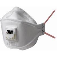 3M 9332 FFP3 Valved Fold-Flat Respirator Pack of 10 GT500013203