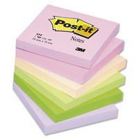 3M Post-it Note Joyful Colours Rainbow Pack of 12 76x76mm 654FL