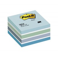 Image for 3M Post-it Cube 76x76mm Blue 2028B