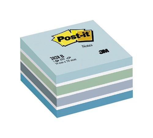 3M Post-it Cube 76x76mm Blue 2028B