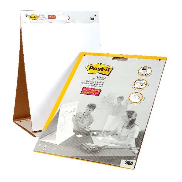 3M Post-it Table Top Meeting Chart 563R