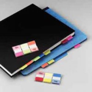3M Post-it Strong Index (Pk 66) Red Yellow Blue 686-RYB