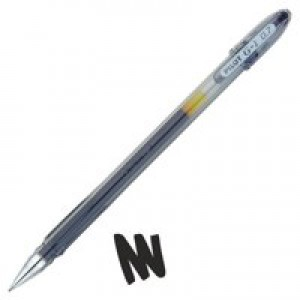 Pilot G107 Gel Ink Pen Ergonomic Grips 0.7mm Tip 0.5mm Line Black