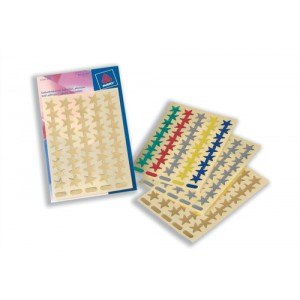 Avery Packet of Star Labels Small Assorted Ref 32-352 [90 Labels]