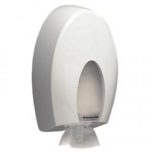 Kimberly-Clark Aqua Bulk Pack Toilet Tissue Dispenser W200xD143xH337mm White Ref 6975