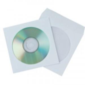 Q-Connect CD Envelope Paper Pk50