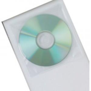 Q-Connect CD/DVD Poly Disk Envelope Pk50