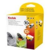 Kodak No.10B/10C Inkjet Cartridge Black/Colour Combo Pack Code 3949948