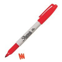 Sharpie Fine Marker Red S0810940