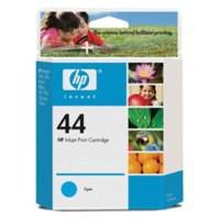 Hewlett Packard [HP] No. 44 Inkjet Cartridge Page Life 840pp 39ml Cyan Ref 51644CE