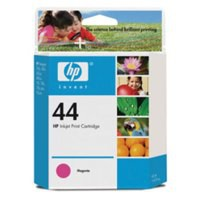 Hewlett Packard [HP] No. 44 Inkjet Cartridge Page Life 840pp 39ml Magenta Ref 51644ME