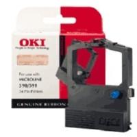 OKI Ribbon Cassette Fabric Nylon Black [for 590] Ref 09002316