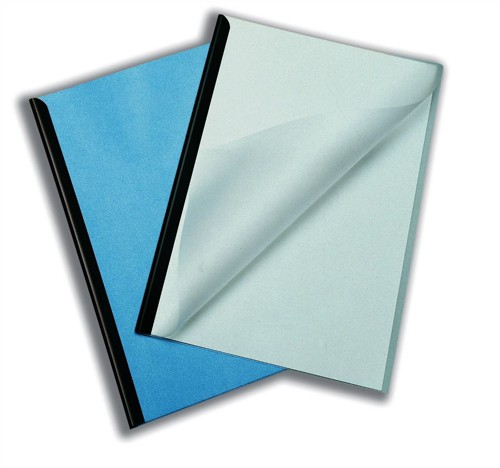 Durable Report Covers PVC Capacity 100 sheets A3 Folds to A4 Clear Ref 2919/19 [Pack 50]
