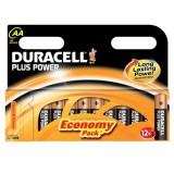 Duracell Plus Power Battery Alkaline 1.5V AA Ref 81275193 [Pack 12]