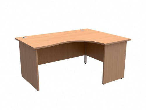 TrexusClass 1600RH Rad Desk Bch