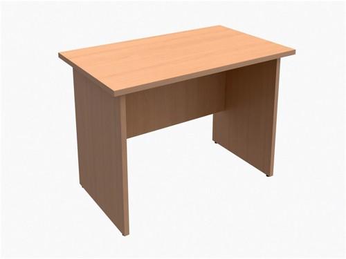 Trexus Classic Rectangular Return Desk Panelled W1000xD600xH725mm Beech